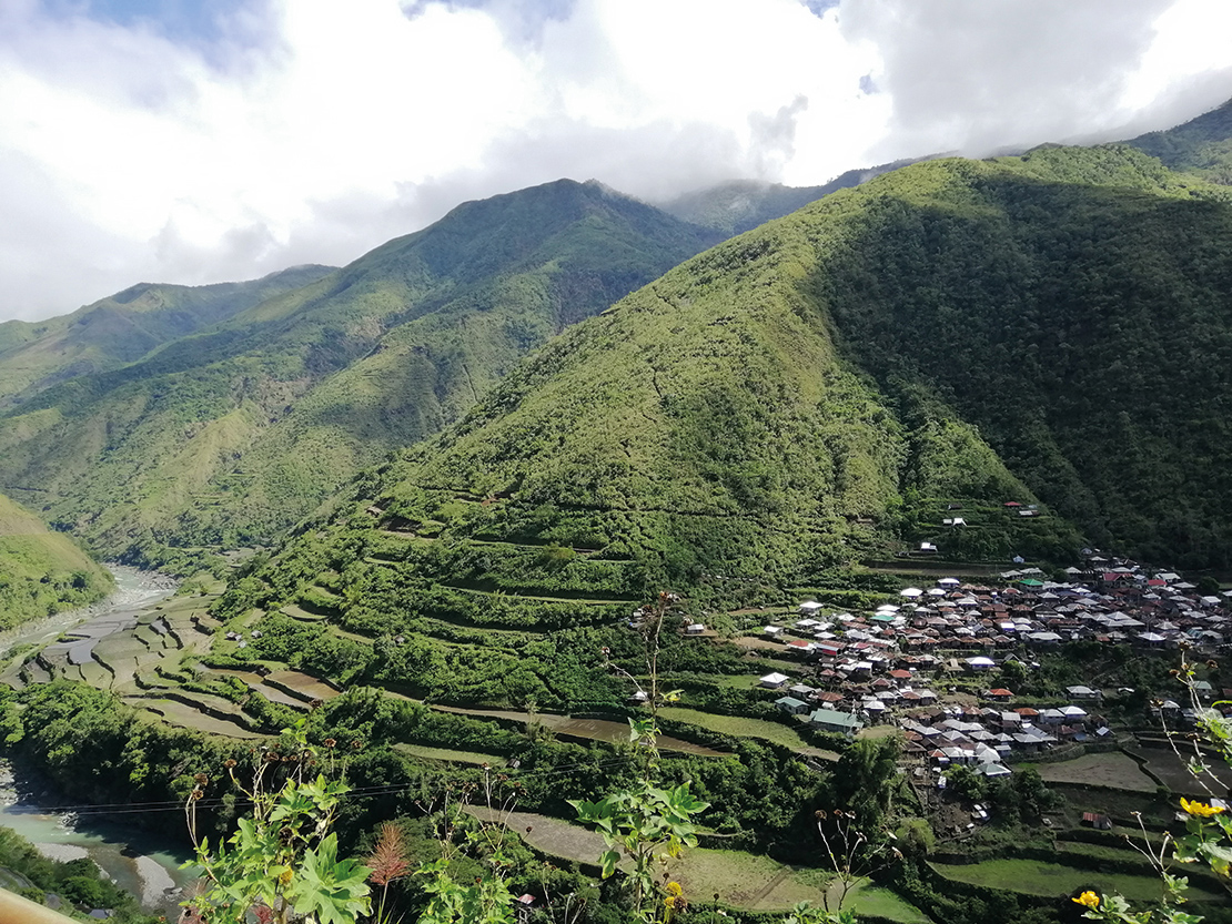 A settlement and rice terraces in Kalinga province. Credit: Jazel Mae Caboteja