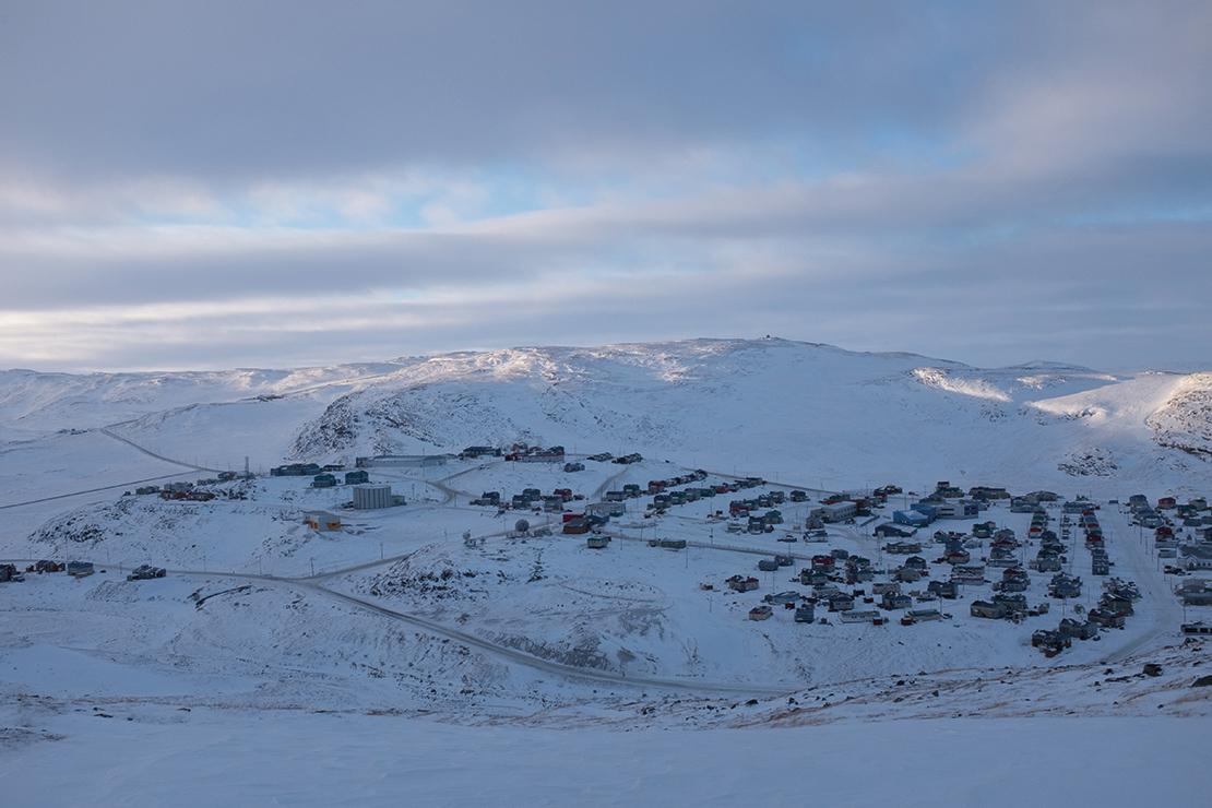 Salluit, one of the Inuit communities located near Raglan Nickel Mine. Credit: Catherine Boivin